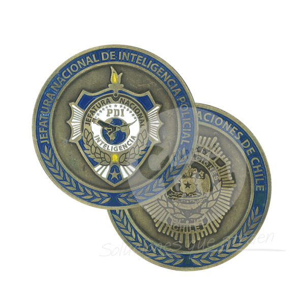 Monedas Esmaltadas - Empresas CTM