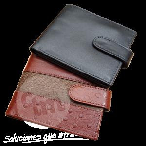 Billetera de Cuero - Empresas CTM
