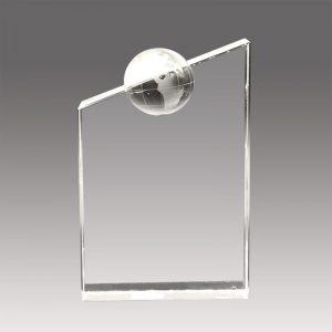 Galvano de Cristal Cima del Mundo FG33 - empresas ctm
