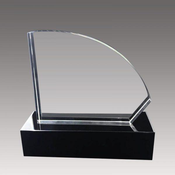 galvano de cristal tipo vela - EmpresasCTM