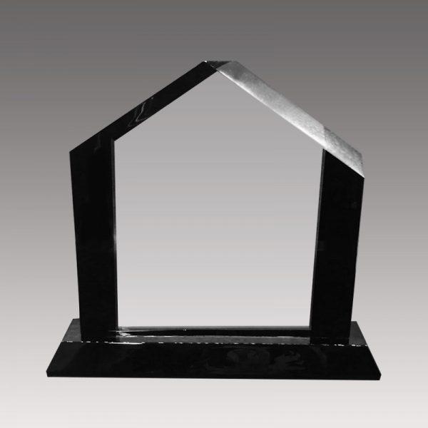 Galvano de cristal tipo casa - empresas ctm