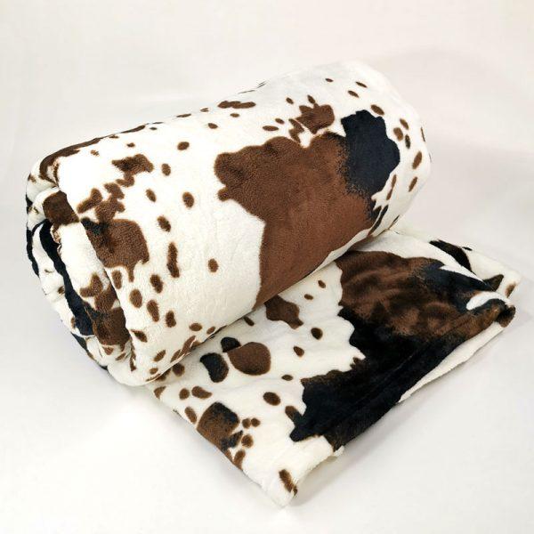 frazada cachemira vaca