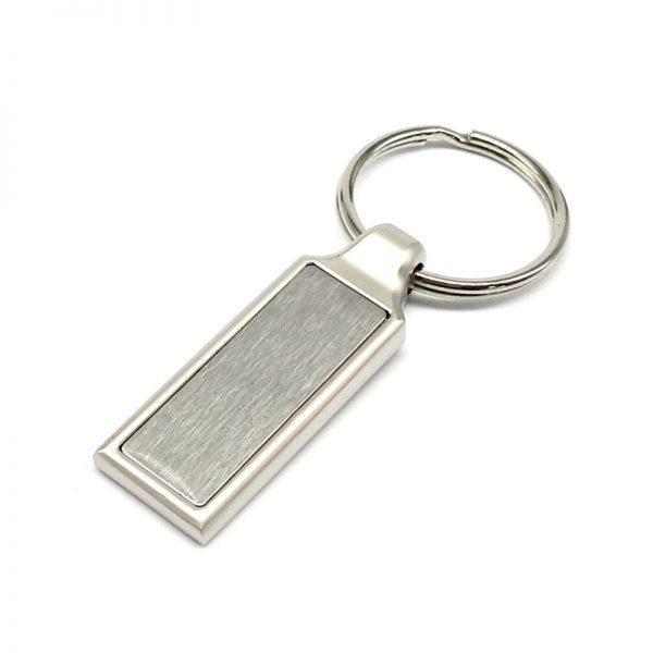 Llavero metálico rectangular 10172
