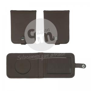porta credencial de cuero - Empresas CTM