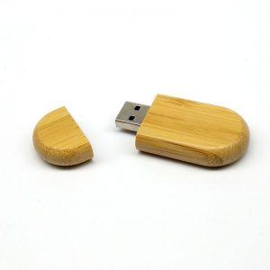pendrive de bamboo - empresasctm