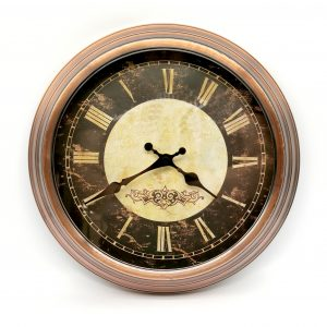 Reloj de Pared Roma Cobrizado