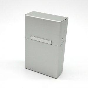 Porta tarjetas / cigarrera metálica