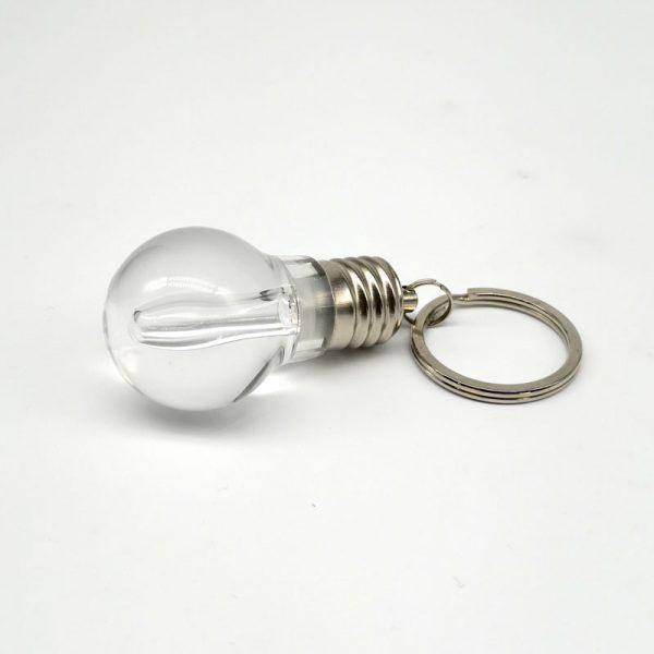 Llavero ampolleta con luz