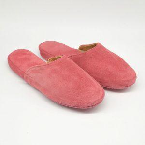 Pantuflas de cuero
