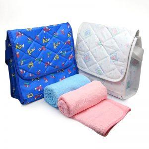 bolso mudador con toalla - empresas CTM