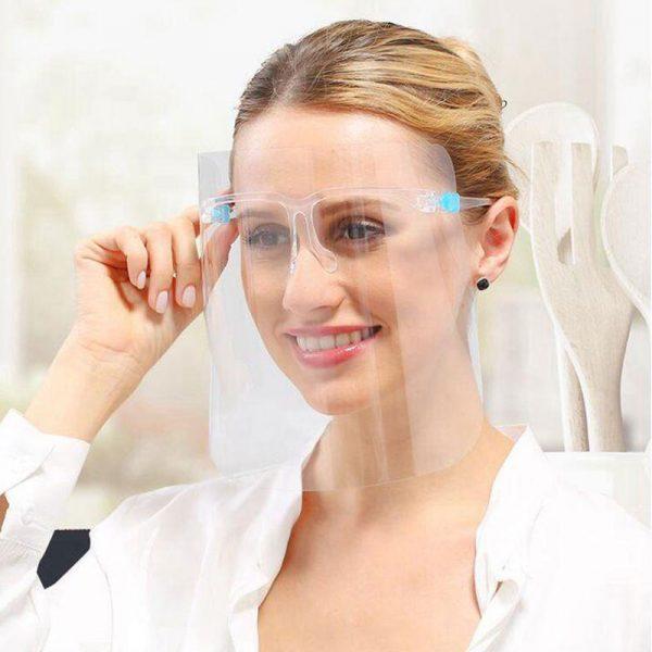 Protector facial con lentes - Empresas CTM
