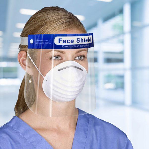 escudo protector facial - Empresas CTM